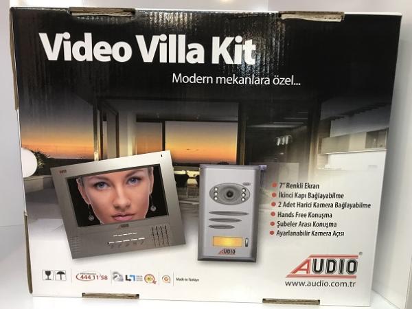 Audio 7 inç Görüntülü Villa Kit Set