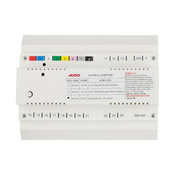 Audio Es 102 Kapıcısız Çift Zilli Santral 002282