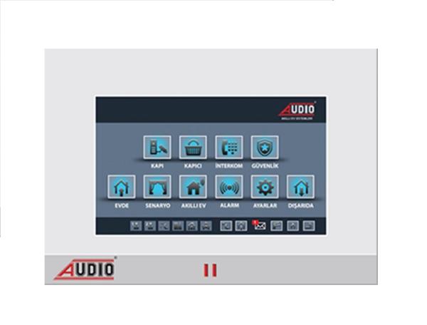 Audio Görüntülü Diafon 7inç Style Dokunmatik Ekranlı Otomasyonlu-Renkli 001811