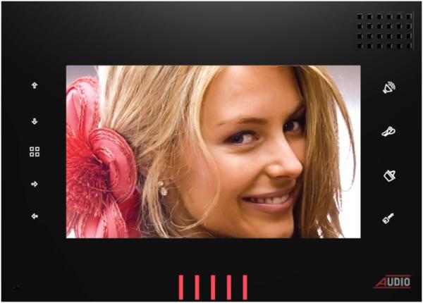 Audio Görüntülü Diafon Style Dokunmatik Butonlu (Siyah) 001125