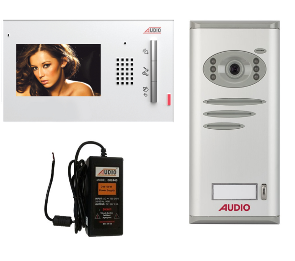 Audio Görüntülü Diafon Gdm 4,3″ 1 Daire Paket Fiyatı 001105