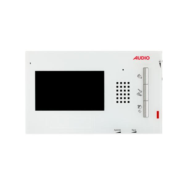 """Audio Görüntülü Diafon Gdm 4,3"""" Renkli (Krem Kapak Dahil) 001105"""