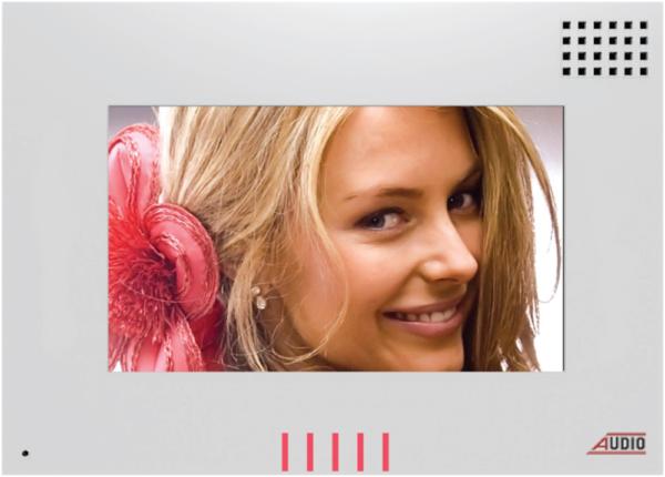 Audio Görüntülü Diafon Style Dokunmatik Butonlu Renkli (Beyaz) 001127